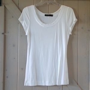 Perfect White T- Shirt from The Limited